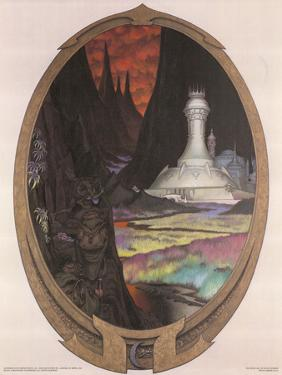 The Dread Vale (Gollum, Frodo and Sam) by Steve Hickman