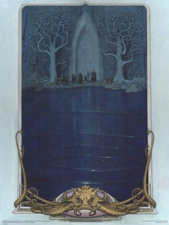 Watcher at the Gate (The Fellowship before the gate of Moria)