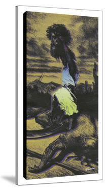 David & Goliath A by Steve Kaufman