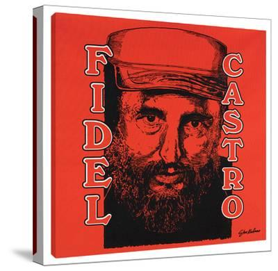 Fidel Castro by Steve Kaufman