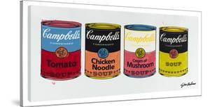 Four Campbell's Soup Cans #1 by Steve Kaufman