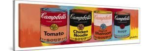 Four Campbell's Soup Cans #2 by Steve Kaufman