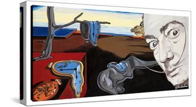Homage To Dali's Melting Clocks by Steve Kaufman