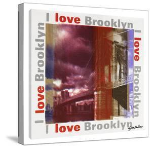 I Love Brooklyn by Steve Kaufman