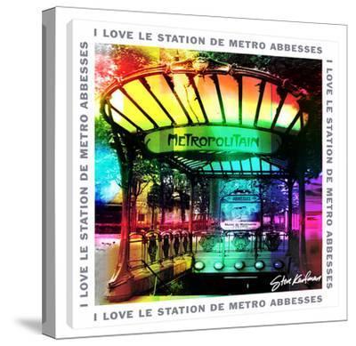 I Love Le Station Demetro by Steve Kaufman