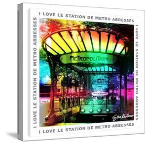I Love Le Station Demetro by Steve Kaufman