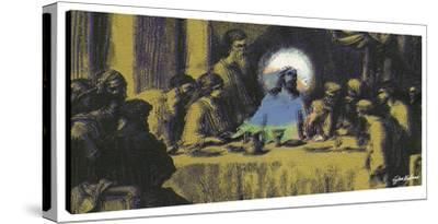 Last Supper #3 by Steve Kaufman