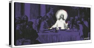 Last Supper #4 by Steve Kaufman