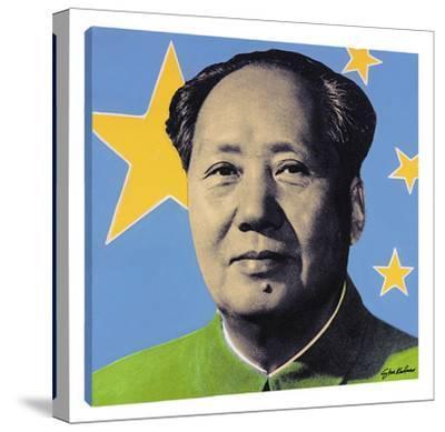 Mao: Blue by Steve Kaufman