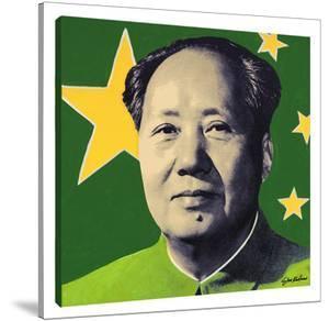 Mao: Green by Steve Kaufman