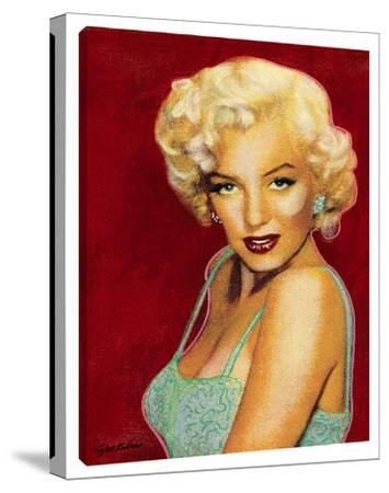 Marilyn On Red by Steve Kaufman