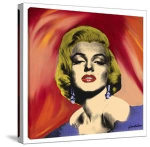 Marilyn With Earrings #2 by Steve Kaufman