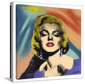 Marilyn With Earrings by Steve Kaufman