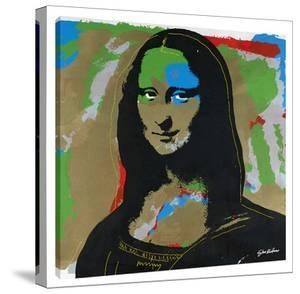 Mona Lisa Gold by Steve Kaufman