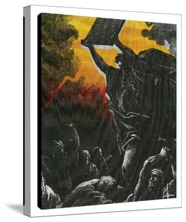 Moses: Ten Commandments by Steve Kaufman