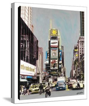Old Times Square by Steve Kaufman