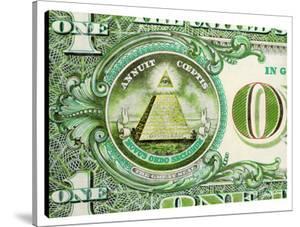 One Dollar Pyramid by Steve Kaufman