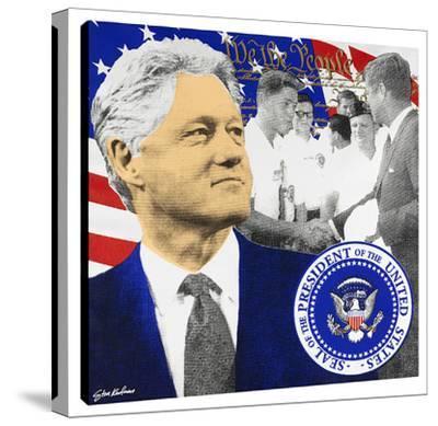 President Clinton #2 by Steve Kaufman