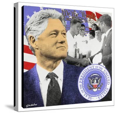 President Clinton by Steve Kaufman