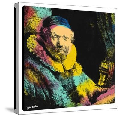 Rembrandt The Banker A by Steve Kaufman