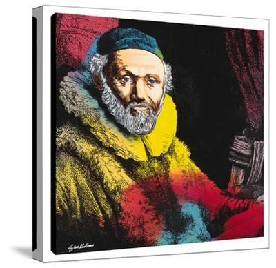 Rembrandt The Banker B by Steve Kaufman