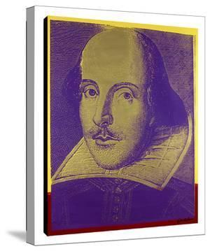 Shakespeare #3 by Steve Kaufman