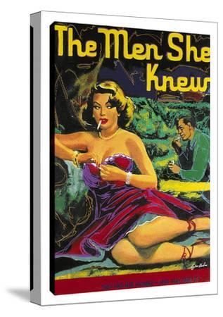 The Men She Knew by Steve Kaufman
