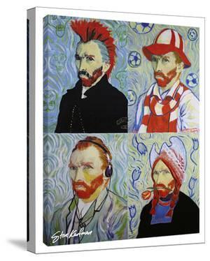 Van Gogh 4 Ways by Steve Kaufman