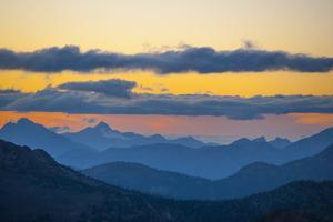Washington, Pasayten, Pct, Hart's Pass. Landscape from Slate Peak by Steve Kazlowski