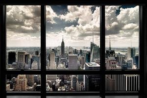 New York Window by Steve Kelley