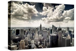 View of Manhattan, New York by Steve Kelley