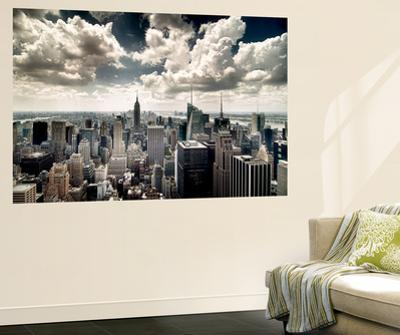 View of Manhattan, New York by Steve Kelley