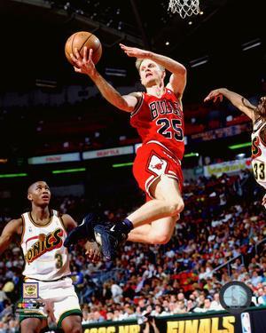 Steve Kerr 1996 NBA Finals Action