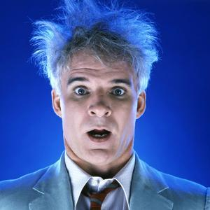 """STEVE MARTIN. """"THE MAN WITH TWO BRAINS"""" [1983], directed by CARL REINER."""
