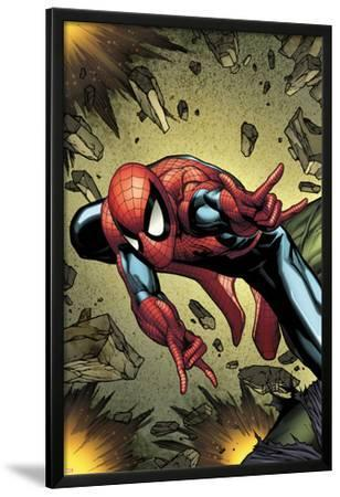 Amazing Spider-Man Annual No.38 Cover: Spider-Man Jumping