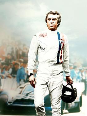 "Steve Mcqueen. ""Le Mans"" [1971], Directed by Lee H. Katzin."