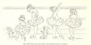 Ballerinas IV by Steve O'Connell