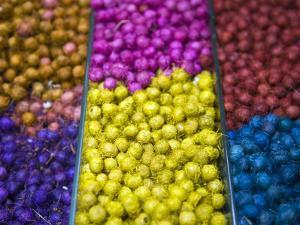 Different Kinds of Anise Seeds; Belo Horizonte Indoor Market, Minas Gerais, Brazil by Steve Outram