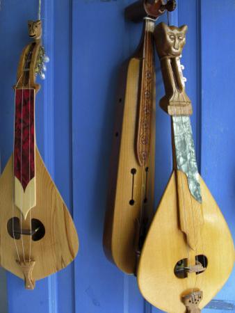 Handmade Musical Instruments, Chania, Crete, Greece by Steve Outram