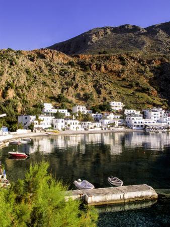 Loutro, Crete, Greece by Steve Outram