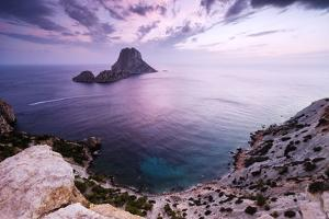 View from Isla De Es Vedr?Ibiza, Spain by Steve Simon