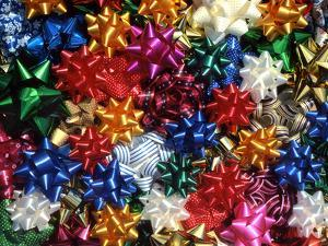Montage of Multicolored Bows by Steve Terrill