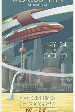 Shanghai Worlds Fair by Steve Thomas
