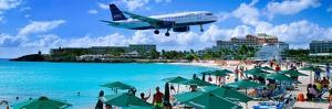 Happy Landings on St. Maarten by Steve Vaughn