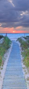 Sunrise Boardwalk by Steve Vaughn