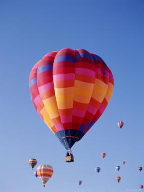Albuquerque Balloon Fiesta, Albuquerque, New Mexico, USA by Steve Vidler
