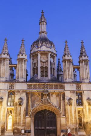 England, Cambridgeshire, Cambridge, King's College by Steve Vidler