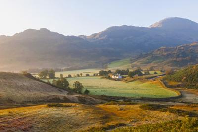 England, Cumbria, Lake District, The Langdales by Steve Vidler