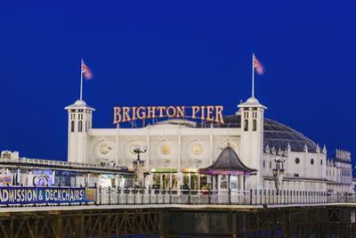 England, East Sussex, Brighton, Brighton Pier by Steve Vidler