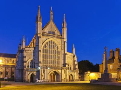 England, Hampshire, Winchester, Winchester Cathedral by Steve Vidler